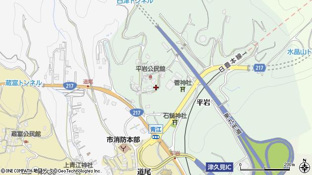 大分県津久見市上青江4023周辺の地図