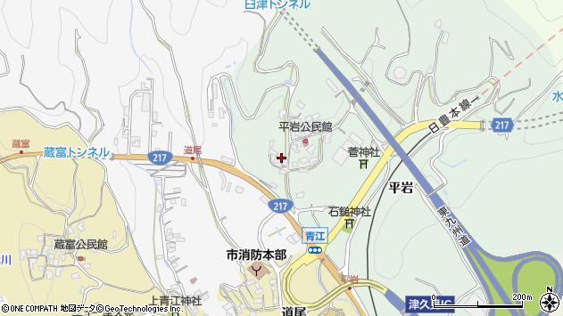 大分県津久見市上青江4093周辺の地図