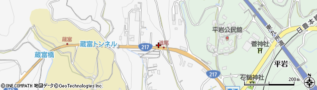 大分県津久見市上青江3370周辺の地図
