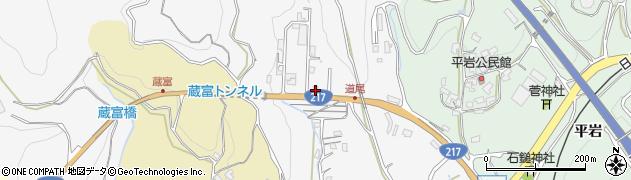 大分県津久見市上青江3366周辺の地図