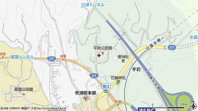 大分県津久見市上青江4047周辺の地図