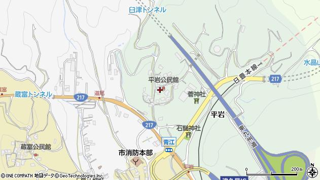 大分県津久見市上青江4048周辺の地図