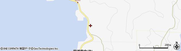 大分県津久見市四浦7475周辺の地図
