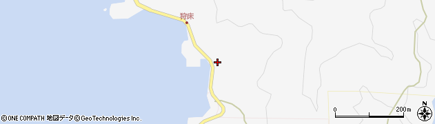 大分県津久見市四浦6557周辺の地図