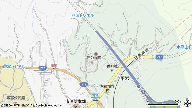 大分県津久見市上青江4014周辺の地図