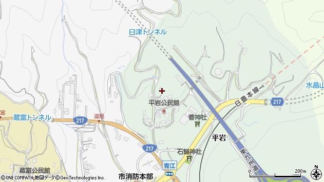 大分県津久見市上青江4055周辺の地図