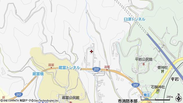 大分県津久見市上青江3375周辺の地図