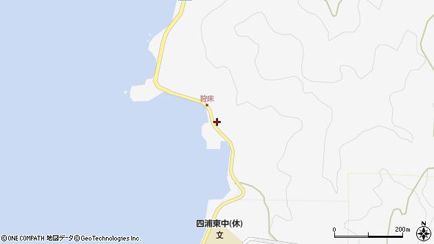大分県津久見市四浦6582周辺の地図