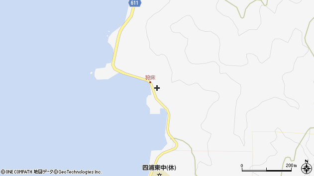 大分県津久見市四浦6580周辺の地図