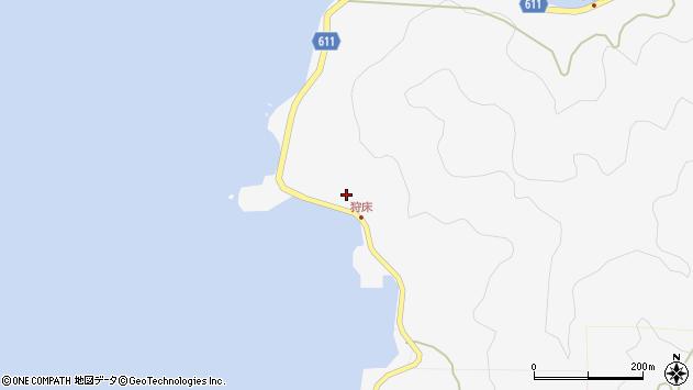 大分県津久見市四浦6627周辺の地図