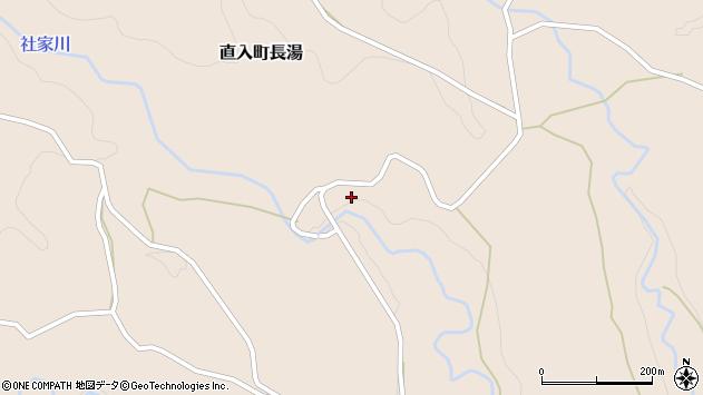大分県竹田市直入町大字長湯久保周辺の地図