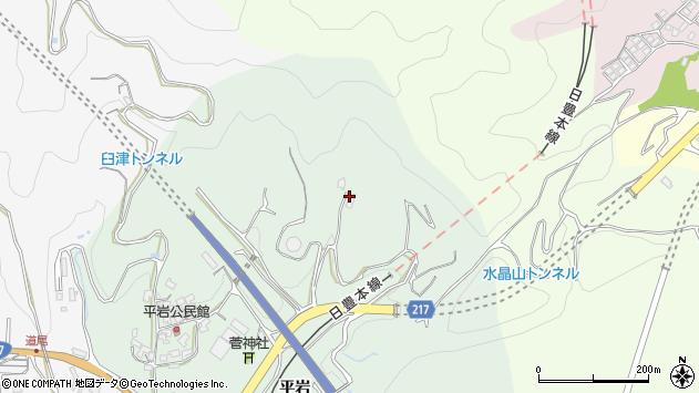 大分県津久見市上青江4313周辺の地図