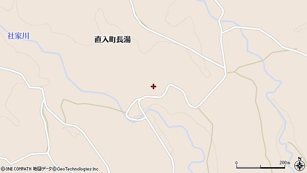 大分県竹田市直入町大字長湯6429周辺の地図