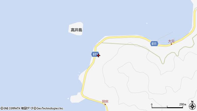 大分県津久見市四浦6753周辺の地図
