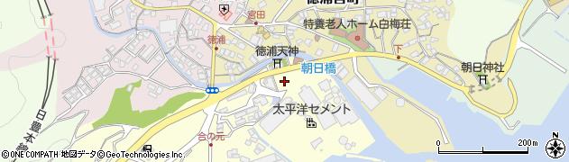 大分県津久見市合ノ元町9周辺の地図