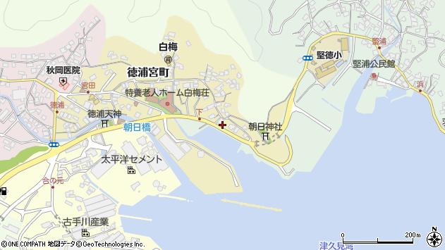 大分県津久見市徳浦宮町11周辺の地図