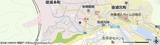 大分県津久見市徳浦本町5周辺の地図