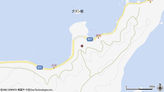 大分県津久見市四浦7069周辺の地図