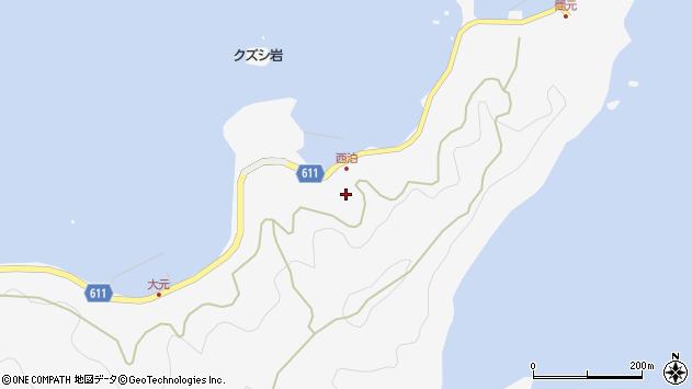 大分県津久見市四浦7292周辺の地図