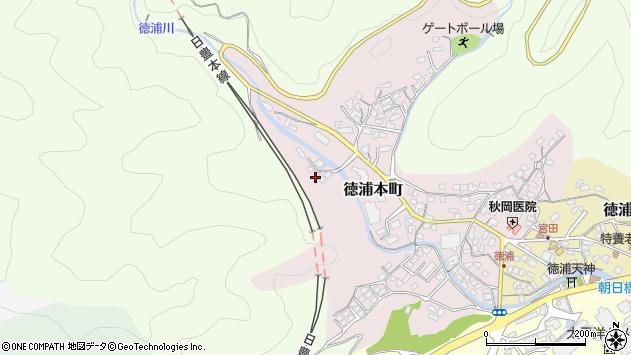 大分県津久見市徳浦本町16周辺の地図