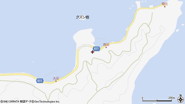 大分県津久見市四浦7243周辺の地図