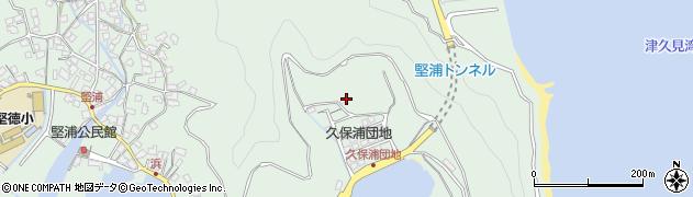 大分県津久見市堅浦1267周辺の地図