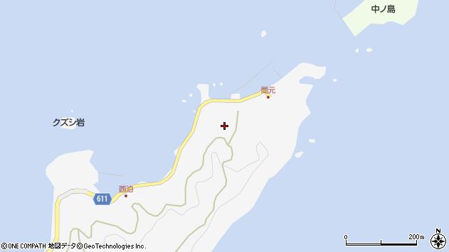 大分県津久見市四浦7353周辺の地図