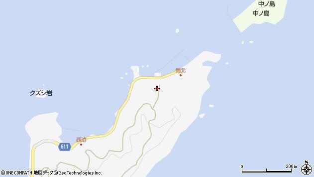 大分県津久見市四浦7372周辺の地図