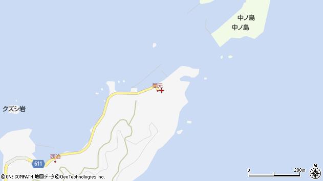 大分県津久見市四浦7386周辺の地図