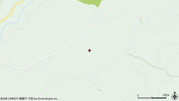 大分県竹田市直入町大字上田北335周辺の地図
