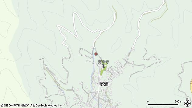 大分県津久見市堅浦1746周辺の地図