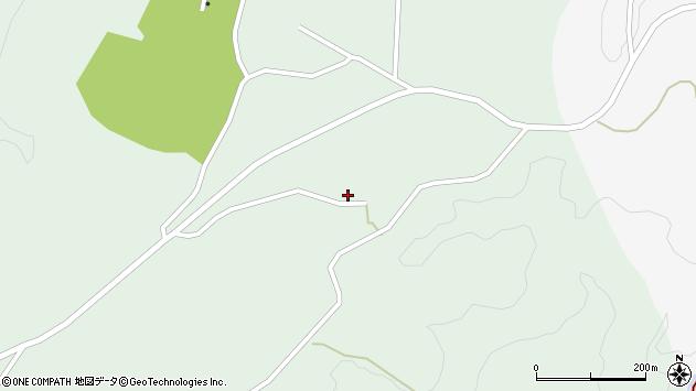 大分県竹田市直入町大字上田北510周辺の地図