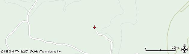 大分県竹田市直入町大字上田北1567周辺の地図