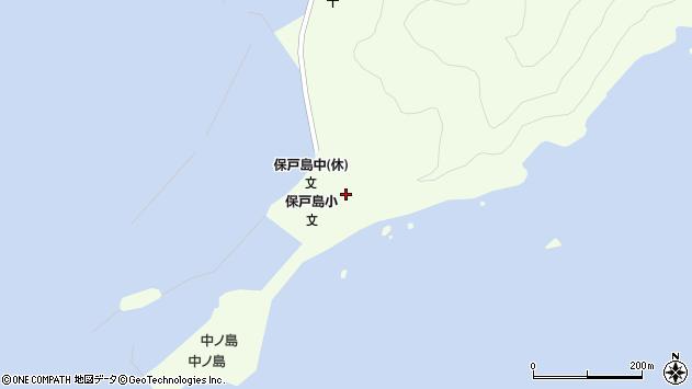 大分県津久見市保戸島25周辺の地図