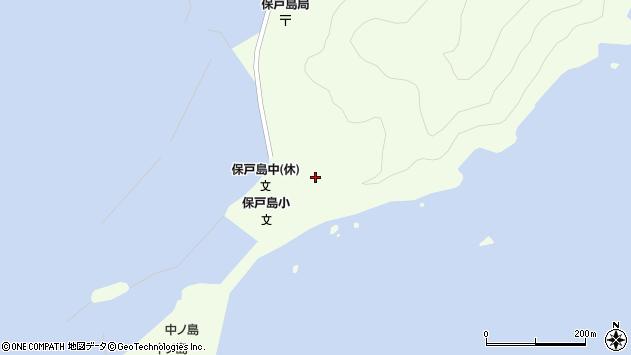 大分県津久見市保戸島39周辺の地図