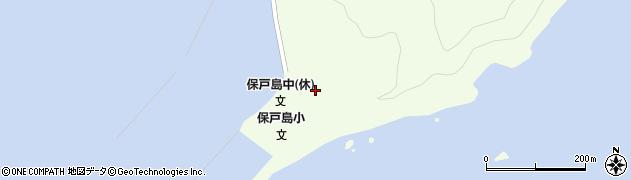 大分県津久見市保戸島34周辺の地図