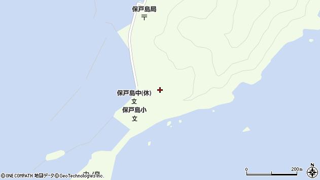 大分県津久見市保戸島61周辺の地図