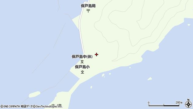 大分県津久見市保戸島62周辺の地図