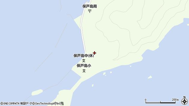 大分県津久見市保戸島53周辺の地図