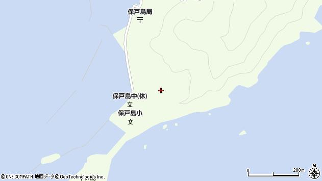 大分県津久見市保戸島66周辺の地図