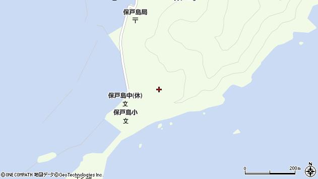 大分県津久見市保戸島68周辺の地図