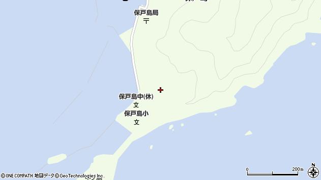 大分県津久見市保戸島60周辺の地図
