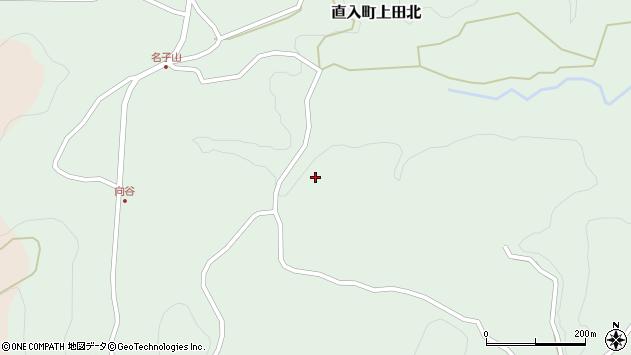 大分県竹田市直入町大字上田北1480周辺の地図
