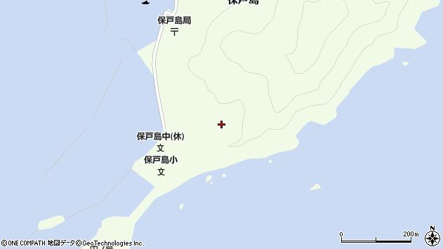 大分県津久見市保戸島211周辺の地図