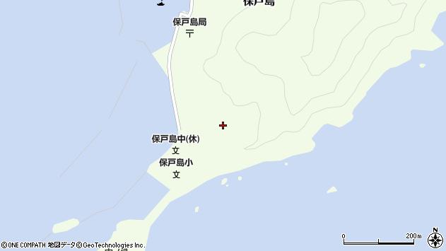 大分県津久見市保戸島70周辺の地図