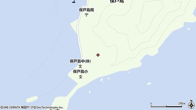 大分県津久見市保戸島71周辺の地図