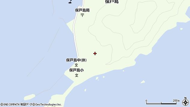 大分県津久見市保戸島74周辺の地図