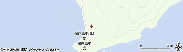 大分県津久見市保戸島91周辺の地図