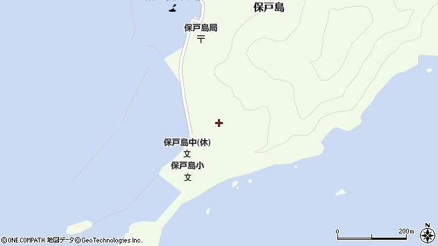 大分県津久見市保戸島77周辺の地図