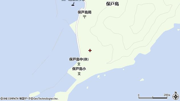 大分県津久見市保戸島84周辺の地図